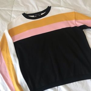 NWOT ASOS Striped Sweater